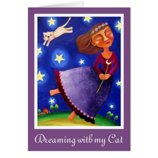 Dreaming with my Cat